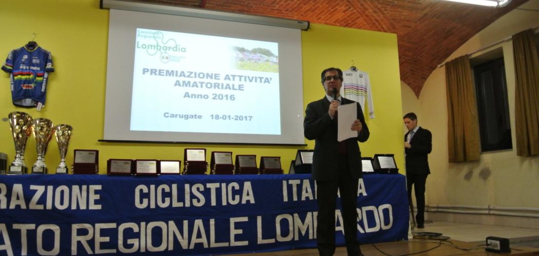 Premiazioni Attività Regionale Lombarda 2017