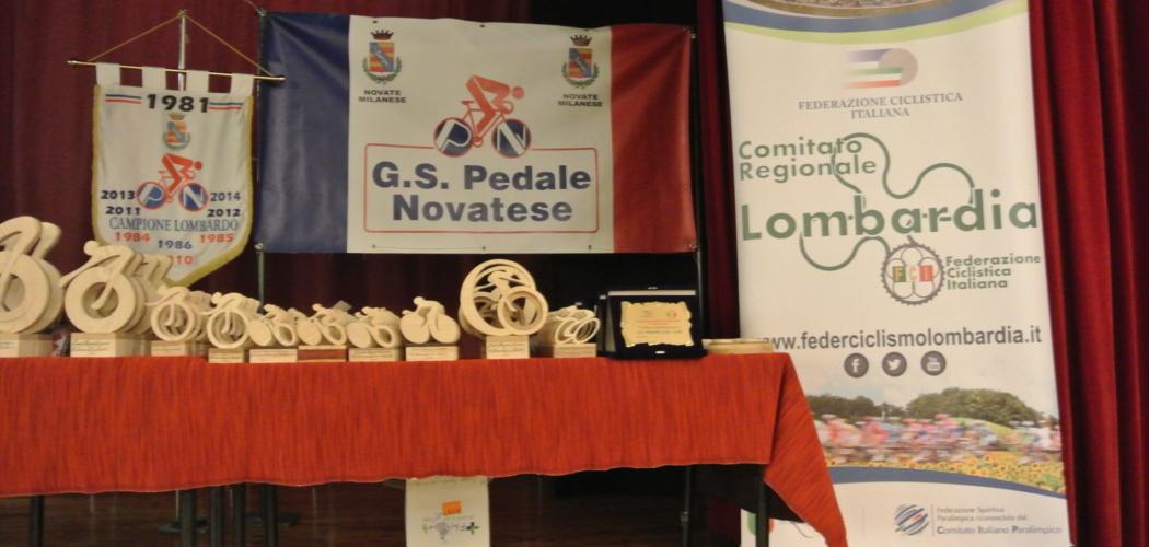 Premiazioni Attività Amatoriale 2017 Federciclismo Lombardia