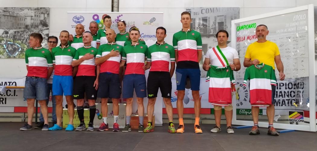 Edolo (BS) 30 Giugno 2019 Campionato Italiano della Montagna