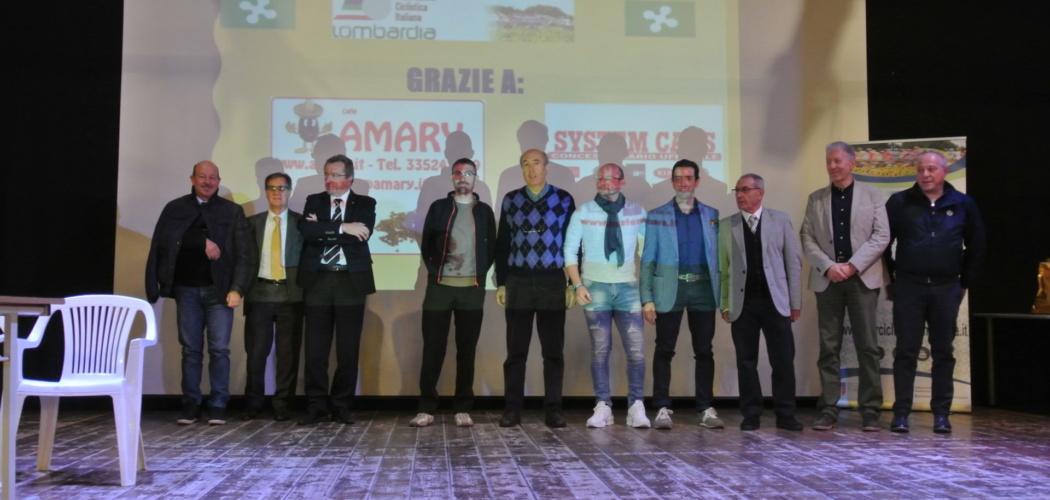 Premiazioni Settore Amatoriale Lombardo FCI Stagione 2019