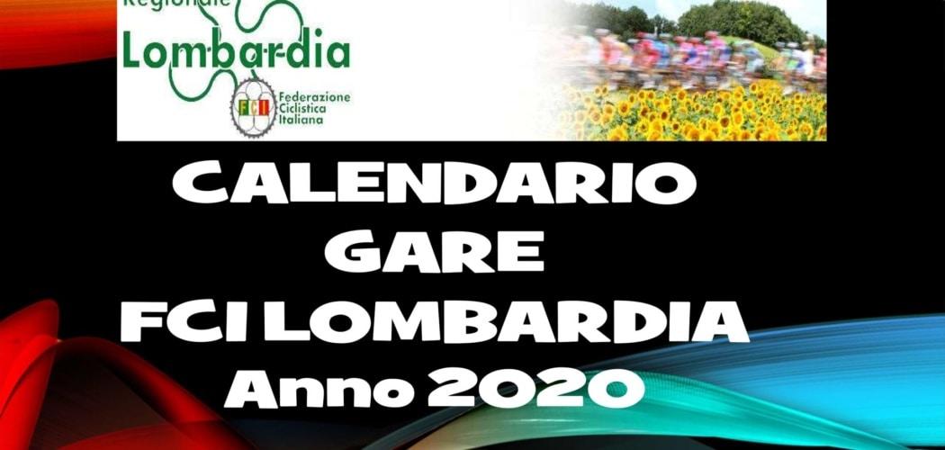 Presentazione Calendario Federciclismo Amatoriale Lombardia stagione 2020