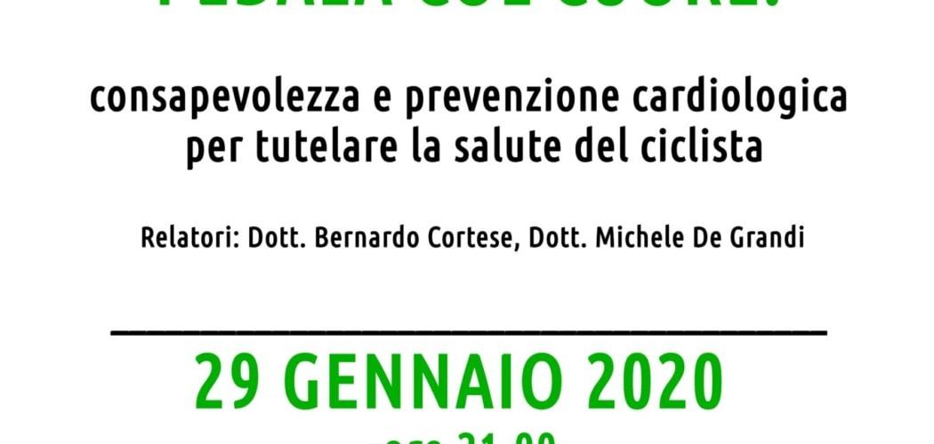 """Convegno Cardiologico """"Pedala col Cuore"""" Seregno 2020"""