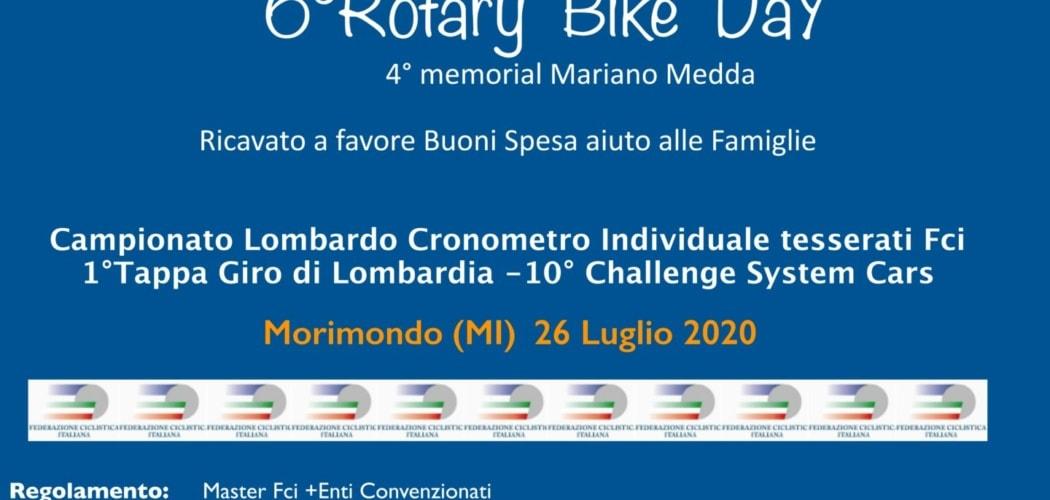 Morimondo 26 Luglio 2020 Riparte l'attività ciclistica in Lombardia